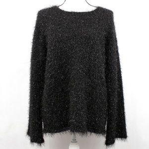 🌟NWT🌟 90s Sparkly Fuzzy Sweater